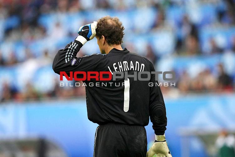 UEFA Euro 2008 Group B Match 11 Klagenfurt - W&ouml;rthersee-Stadion.<br />  Kroatien ( CRO ) - Deutschland ( GER ). 2:1 (1:0)<br /> <br /> Jens Lehmann (Germany / Torh&uuml;ter / Goalkeeper /  ARSENAL London #1) <br /> <br /> Foto &copy; nph (  nordphoto  )