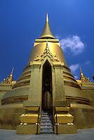 Gilded stupas, Grand Palace, Bangkok, Thailand