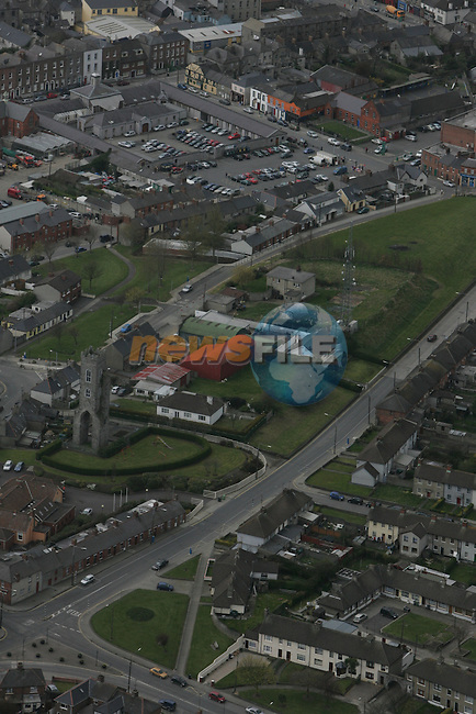 Aerial view of Drogheda showing Magdalen Tower, Patrick St. and Bolton Square...Photo NEWSFILE/Fran Caffrey.(Photo credit should read Fran Caffrey/NEWSFILE)....This Picture has been sent you under the condtions enclosed by:.Newsfile Ltd..The Studio,.Millmount Abbey,.Drogheda,.Co Meath..Ireland..Tel: +353(0)41-9871240.Fax: +353(0)41-9871260.GSM: +353(0)86-2500958.email: pictures@newsfile.ie.www.newsfile.ie.FTP: 193.120.102.198...This picture is from Fran Caffrey@newsfile.ie