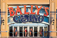 Exterior of Bally's casino, Atlantic City, New Jersey, NJ, USA