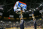 Nevada cheerleaders perform during an NCAA college basketball game against Utah State in Reno, Nev., Wednesday, Jan. 2, 2019. (AP Photo/Tom R. Smedes)