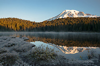 Mount Rainer and Reflection Lake