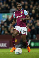 Aston Villa's Keinan Davis<br /> <br /> Photographer Andrew Kearns/CameraSport<br /> <br /> The EFL Sky Bet Championship -  Aston Villa v Queens Park Rangers - Tuesday 13th March 2018 - Villa Park - Birmingham<br /> <br /> World Copyright &copy; 2018 CameraSport. All rights reserved. 43 Linden Ave. Countesthorpe. Leicester. England. LE8 5PG - Tel: +44 (0) 116 277 4147 - admin@camerasport.com - www.camerasport.com