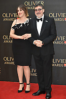 Alfred Molina and daughter<br /> The Olivier Awards 2018 , arrivals at The Royal Albert Hall, London, UK -on April 08, 2018.<br /> CAP/PL<br /> &copy;Phil Loftus/Capital Pictures