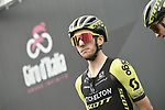 Simon Yates (GBR) Mitchelton-Scott at sign on before Stage 15 of the 2019 Giro d'Italia, running 232km from Ivrea to Como, Italy. 26th May 2019<br /> Picture: Fabio Ferrari/LaPresse | Cyclefile<br /> <br /> All photos usage must carry mandatory copyright credit (© Cyclefile | Fabio Ferrari/LaPresse)