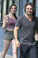 July 06, 2012 Hailee Steinfeld, Mark Ruffalo shooting on location for new VH-1 movie Can a Song Save Your Life? in New York City.Credit:&copy; RW/MediaPunch Inc. *NORTEPHOTO.COM*<br /> **CREDITO*OBLIGATORIO** <br /> **No*Venta*A*Terceros**<br /> **No*Sale*So*third**<br /> *** No*Se*Permite Hacer Archivo**<br /> **No*Sale*So*third**