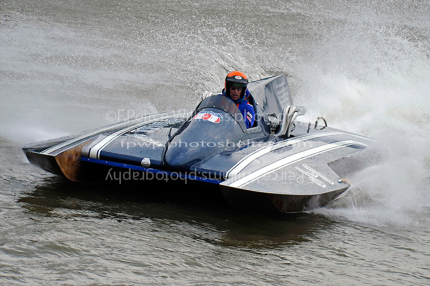 "Kevin Klosterman, J-1 ""Bluewater Special"" (1978 Staudacher 7 Litre Div II hydroplane)"