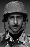 Pvt. Hassan Saleh Abood, 21, Nasiriyah, Laborer, 4th Co., 2nd Battalion, 7th Division of the Iraqi Army in Haditha, Iraq on Mon. Nov. 28, 2005.