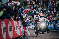 David de la Cruz (ESP/SKY) up the infamous Monte Zoncolan (1735m/11%/10km)<br /> <br /> stage 14 San Vito al Tagliamento &ndash; Monte Zoncolan (186 km)<br /> 101th Giro d'Italia 2018