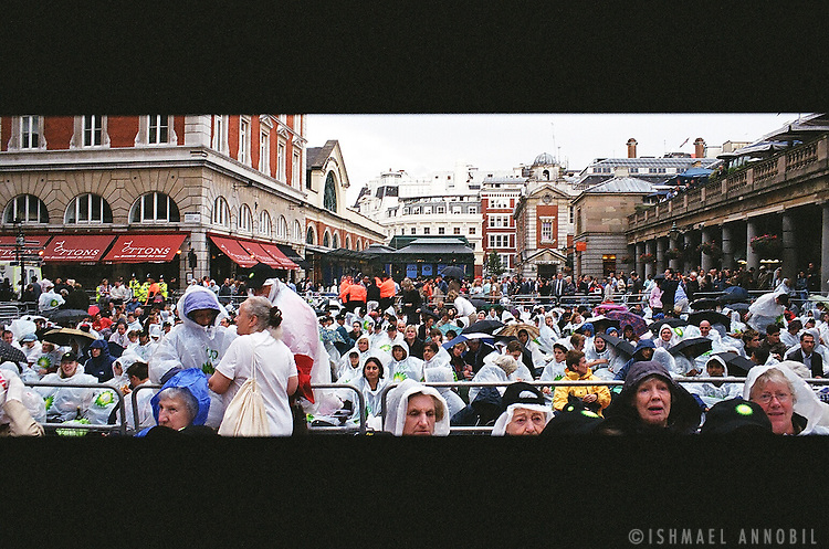 BP Opera audience, Covent Garden, London