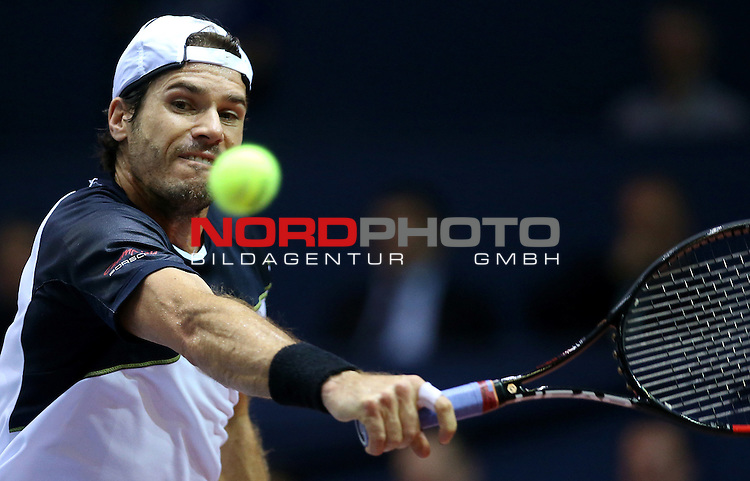 09.02.2014., Dom sportova, Zagreb - ATP PBZ Zagreb Indoors, final, Marin Cilic (CRO) - Tommy Haas (GER). <br /> Foto &copy;  nph / PIXSELL / Igor Kralj