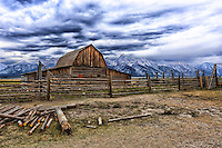 Teton Ranch Barn - Grand Teton NP - Wyoming