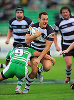 Hawkes Bay fullback Israel Dagg on attack. ITM Cup rugby - Manawatu Turbos v Hawkes Bay at FMG Stadium, Palmerston North, New Zealand on Sunday, 29 August 2010. Photo: Dave Lintott/lintottphoto.co.nz.