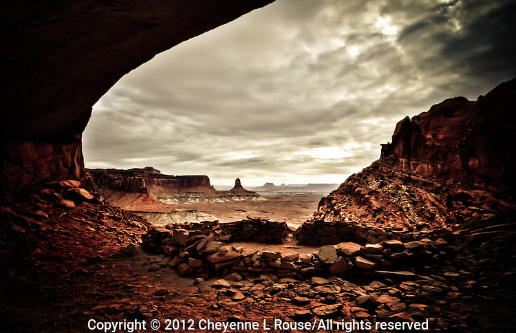 Mystical Alcove - Ancient cultural site located in the Four Corners region of the American Southwest.