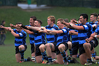 Action from the Quadrangular Tournament Rugby 1st XV match between Nelson College and Whanganui Collegiate at Wellington College in Wellington, New Zealand on Wednesday, 3 July 2019. Photo: Dave Lintott / lintottphoto.co.nz