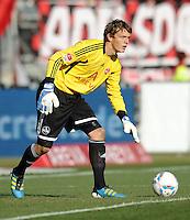 FUSSBALL   1. BUNDESLIGA  SAISON 2011/2012   10. Spieltag 1 FC Nuernberg - VfB Stuttgart         22.10.2011 Alexander Stephan  (1 FC Nuernberg)