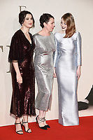 "Rachel Weisz, Olivia Colman and Emma Stone<br /> London Film Festival screening of ""The Favourite"" at the BFI South Bank, London<br /> <br /> ©Ash Knotek  D3448  18/10/2018"