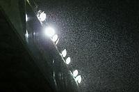 Rain falls at Elland Road<br /> <br /> Photographer Alex Dodd/CameraSport<br /> <br /> The EFL Sky Bet Championship - Leeds United v Queens Park Rangers - Saturday 8th December 2018 - Elland Road - Leeds<br /> <br /> World Copyright &copy; 2018 CameraSport. All rights reserved. 43 Linden Ave. Countesthorpe. Leicester. England. LE8 5PG - Tel: +44 (0) 116 277 4147 - admin@camerasport.com - www.camerasport.com