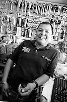 Julio Cesar Meza Torres. Hardware store owners in Culiacan, Sinaloa,  Mexico