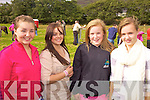 Enjoying the day out at the Cahersiveen Races on Sunday were l-r; Meabh Daly, Niamh Murphy, Alannah O'Sullivan & Eimear Kissane.