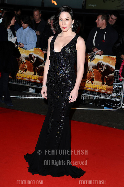 """Lynn Collins at the """"John Carter"""" premiere at the BFI South Bank, London. 02/03/2012 Picture by: Steve Vas / Featureflash"""