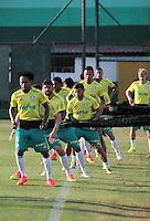 SÃO PAULO,SP,14.07.2016 - FUTEBOL-PALMEIRAS - Jogadores durante treino na Academia de Futebol na Barra Funda,zona oeste de São Paulo, na tarde desta quinta-feira (14).(Foto : Marcio Ribeiro / Brazil Photo Press)