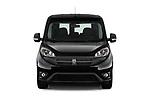 Car photography straight front view of a 2018 Ram Promaster City SLT Wagon 5 Door Mini Van