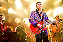 Million Dollar Quartet. Book by Colin Escott and Floyd Mutrux directed by Eric Schaeffer. With Robert Britton Lyons as Carl Perkins. Opens at The Noel Coward  Theatre on 28/2/11  CREDIT Geraint Lewis