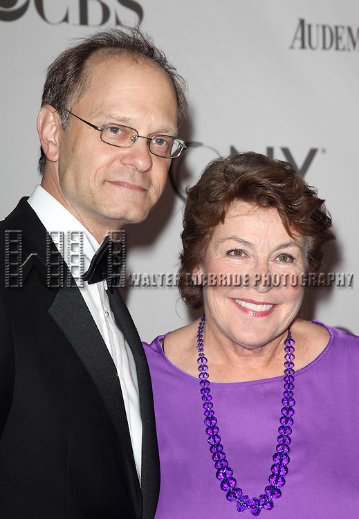 David Hyde Pierce &amp; Helen Reddy<br /> attending The 65th Annual Tony Awards in New York City.
