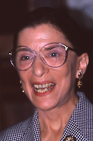 Associate Justice Ruth Bader Ginsburg October 2, 1993