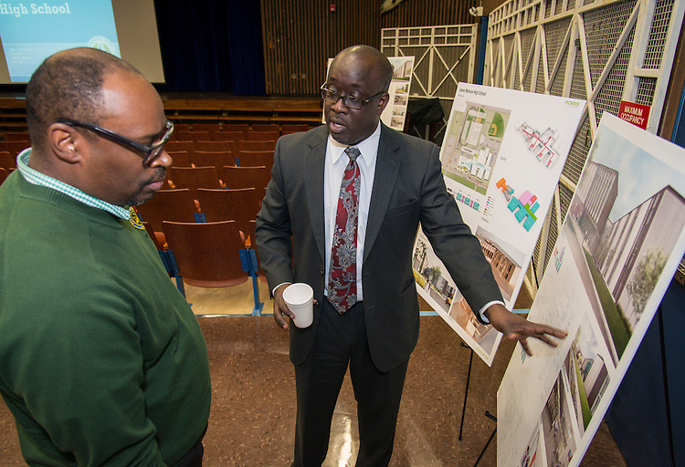 Bond community meeting at Madison High School, December 3, 2015.