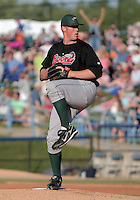 January 20, 2010:  Pitcher Josh Walter of the Great Lakes Loons delivers a pitch during a game at Fifth Third Ballpark in Comstock Park, FL.  The Loons are the Low-A affiliate of the Los Angeles Dodgers.  Photo By Emily Jones/Four Seam Images