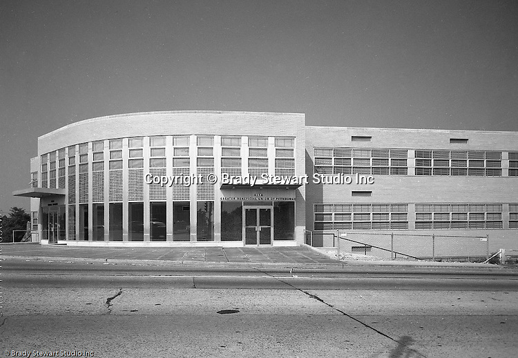 Baldwin PA:  GBU building in located on Route 51 and Brownsville Road - 1959. GBU Financial Life (GBU) was founded as an ethnic German fraternal organization on April 13, 1892.  On location assignment for Colonial Press for GBU brochure