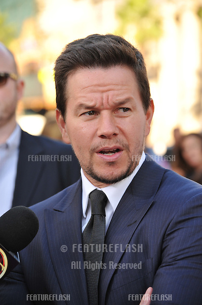 "Mark Wahlberg at the world premiere of his movie ""Ted"" at Grauman's Chinese Theatre, Hollywood..June 22, 2012  Los Angeles, CA.Picture: Paul Smith / Featureflash"