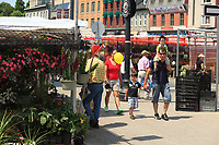 Ottawa (ON) CANADA - June 17 2012 - Canada's capital Ottawa - By Market...