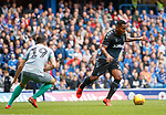 21.07.2019: Rangers v Blackburn Rovers: Alfredo Morelos and Stewart Downing
