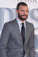 www.acepixs.com<br /> <br /> February 9 2017, London<br /> <br /> Jamie Dornan arriving at the UK Premiere of 'Fifty Shades Darker' at the Odeon Leicester Square on February 9, 2017 in London, United Kingdom. <br /> <br /> By Line: Famous/ACE Pictures<br /> <br /> <br /> ACE Pictures Inc<br /> Tel: 6467670430<br /> Email: info@acepixs.com<br /> www.acepixs.com