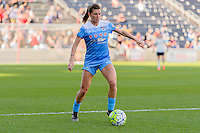 Bridgeview, IL - Sunday June 12, 2016: Arin Gilliland during a regular season National Women's Soccer League (NWSL) match between the Chicago Red Stars and the Portland Thorns at FC Toyota Park.