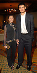 Yao Ming and his girlfriend Ye Li at a benefit for Dikembe Mutombo's hospital in Kinshasa at The Houstonian Hotel in Houston,Texas Thursday April 12,2007.