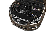 Car Stock 2016 Buick Envision Premium-II-AWD 5 Door SUV Engine  high angle detail view