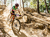 Picture by Alex Broadway/SWpix.com - 09/09/17 - Cycling - UCI 2017 Mountain Bike World Championships - XCO - Cairns, Australia - Sina Frei of Switzerland competes in the Women's Under 23 Cross Country Final.