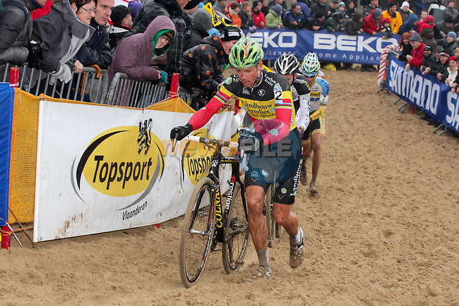 Sven Nys had a rough start