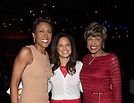 NEW ORLEANS, LA - JULY 4: Robin Roberts, Soledad O'Brien and Sally Ann Roberts attends the 2014 Essence Music Festival at the Ernest N. Morial Convention Center on July 4, 2014 in New Orleans, Louisiana. Photo Credit: Morris Melvin / Retna Ltd.
