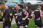 Adam Jones back in training with the Ospreys today at Llandarcy Academy of Sport near Neath ahead of their Heineken Cup game with Viadana this coming weekend. Adam is expected to make a return to the field in a couple of weeks after he suffered a dislocated shoulder in the British and Irish Lions' second Test against South Africa back in June.