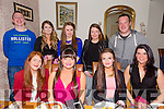 Celebrating end of year exams from the Kerry College of further education nursing studies at Bella Bia's on Thursday were front l-r Triona Brassen,Louise Hobbert,Leah O'Connell and Mags Griffin.Back l-r Marcus Cronin,Sorcha Dineen,Kerry Ann Shortland,Kaitlyn Casey and Faolán Divane