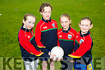 l-r  Kerry Hennessy, Bridget Sheehan, Laura Kelly and Abbie Leahy Enjoying the Ballymac Cul Camp on Monday