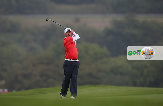 Patrik Sjoland (SWE) during Round Three of the ISPS Handa Wales Open 2014 from the Celtic Manor Resort, Newport, South Wales. Picture:  David Lloyd / www.golffile.ie
