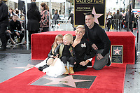LOS ANGELES - FEB 5:  Willow Hart, Jameson Hart, Pink, Carey Hart at the Pink Star Ceremony on the Hollywood Walk of Fame on February 5, 2019 in Los Angeles, CA