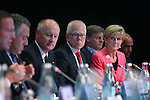 Australia's Minister for Foreign Affairs Julie Bishop at the B20 Summit in the IMC during the G20 Leaders' Summit in Brisbane. <br /> Photograph by Steve Christo/G20 Australia