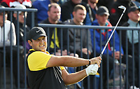 Patrick Reed (USA) during Round One of the 148th Open Championship, Royal Portrush Golf Club, Portrush, Antrim, Northern Ireland. 18/07/2019. Picture David Lloyd / Golffile.ie<br /> <br /> All photo usage must carry mandatory copyright credit (© Golffile | David Lloyd)